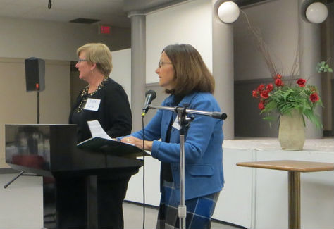 Ruth and Maria Presenting